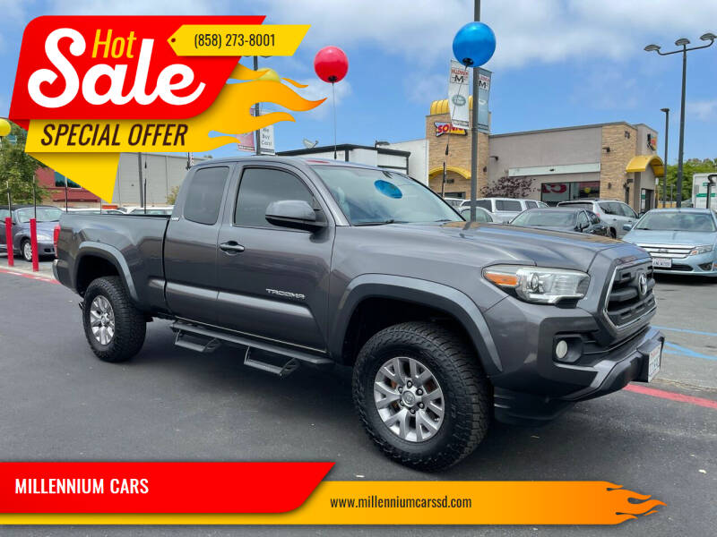 2016 Toyota Tacoma for sale at MILLENNIUM CARS in San Diego CA