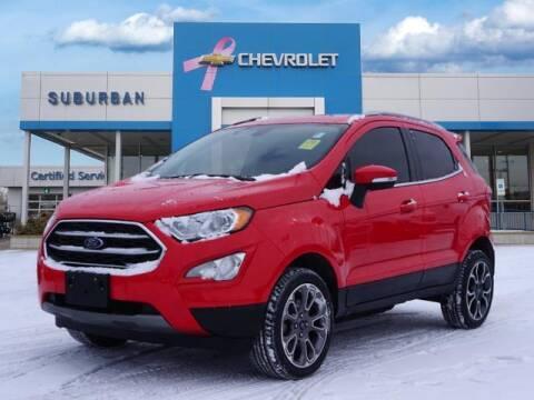 2019 Ford EcoSport for sale at Suburban Chevrolet of Ann Arbor in Ann Arbor MI