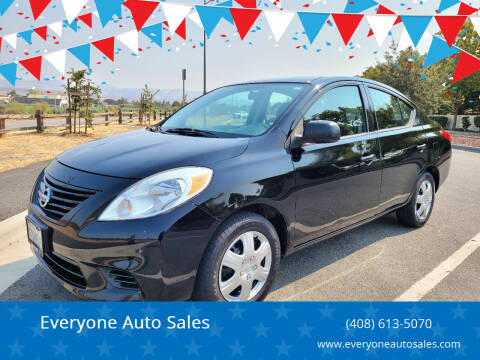 2012 Nissan Versa for sale at Everyone Auto Sales in Santa Clara CA