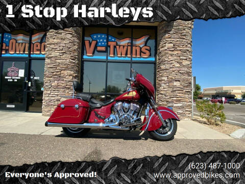 2018 Indian Chieftain Classic for sale at 1 Stop Harleys in Peoria AZ