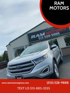 2017 Ford Edge for sale at RAM MOTORS in Cincinnati OH