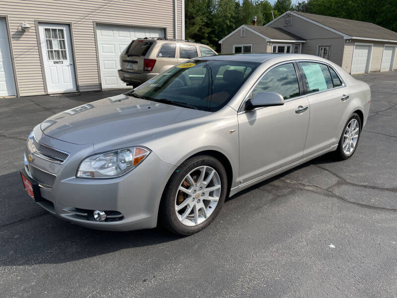 2008 Chevrolet Malibu for sale at Glen's Auto Sales in Fremont NH