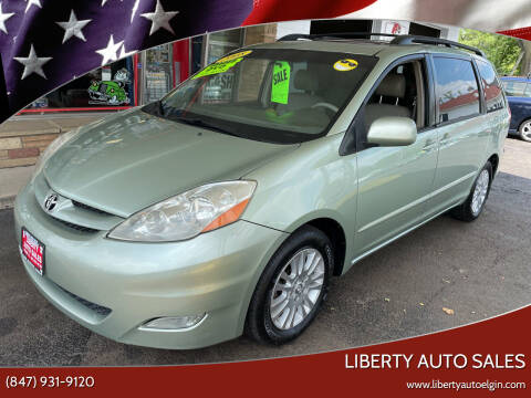 2008 Toyota Sienna for sale at Liberty Auto Sales in Elgin IL