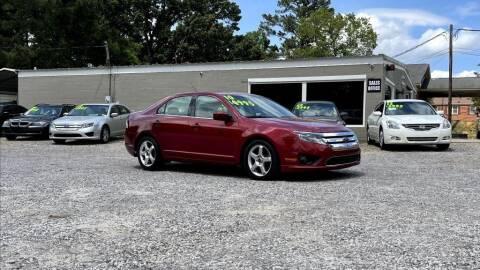 2010 Ford Fusion for sale at Barrett Auto Sales in North Augusta SC