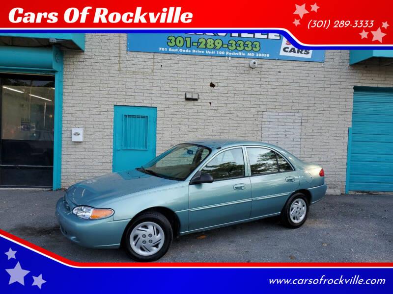 1999 Ford Escort for sale at Cars Of Rockville in Rockville MD
