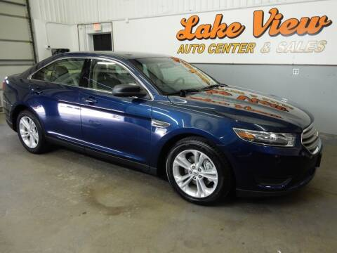 2016 Ford Taurus for sale at Lake View Auto Center in Oshkosh WI