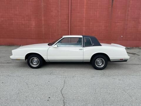 1986 Chevrolet Monte Carlo for sale at ELIZABETH AUTO SALES in Elizabeth PA