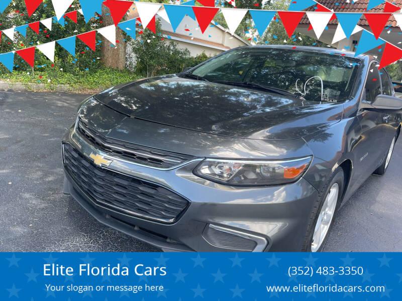 2017 Chevrolet Malibu for sale at Elite Florida Cars in Tavares FL
