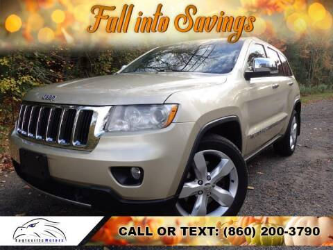 2011 Jeep Grand Cherokee for sale at EAGLEVILLE MOTORS LLC in Storrs Mansfield CT