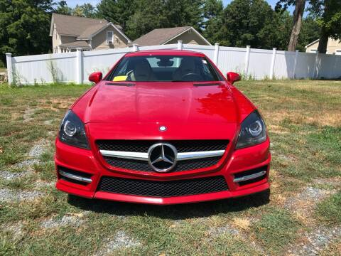2012 Mercedes-Benz SLK for sale at Milford Automall Sales and Service in Bellingham MA