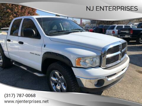 2005 Dodge Ram Pickup 1500 for sale at NJ Enterprises in Indianapolis IN