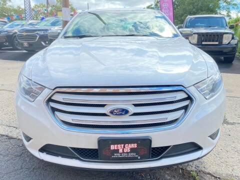 2013 Ford Taurus for sale at Best Cars R Us in Plainfield NJ