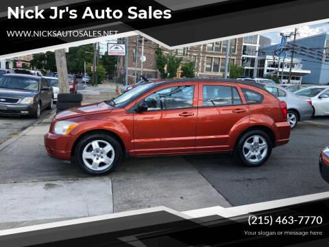 2009 Dodge Caliber for sale at Nick Jr's Auto Sales in Philadelphia PA