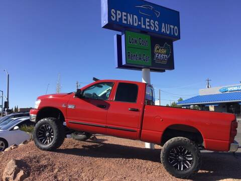 2007 Dodge Ram Pickup 2500 for sale at SPEND-LESS AUTO in Kingman AZ