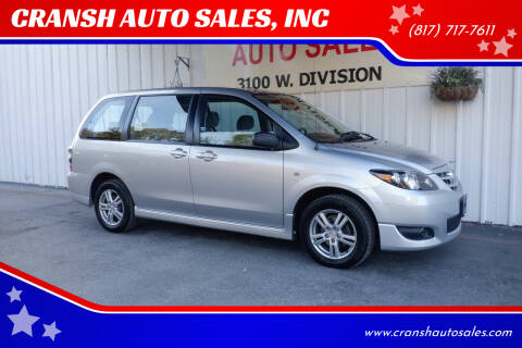 2004 Mazda MPV for sale at CRANSH AUTO SALES, INC in Arlington TX
