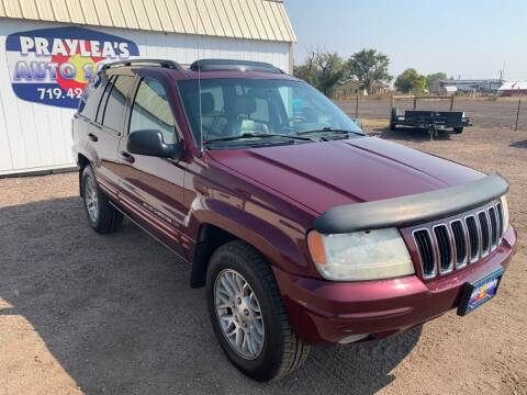 2003 Jeep Grand Cherokee for sale at Praylea's Auto Sales in Peyton CO