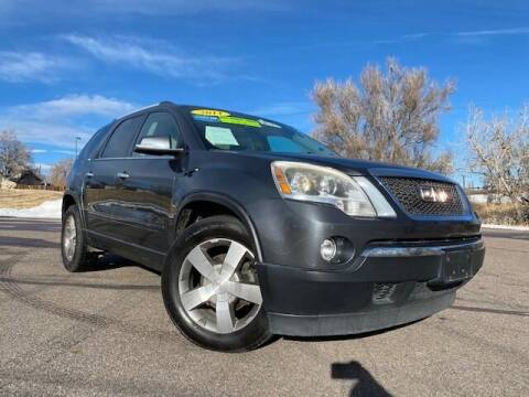 2011 GMC Acadia for sale at UNITED Automotive in Denver CO