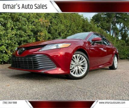 2018 Toyota Camry for sale at Omar's Auto Sales in Martinez GA