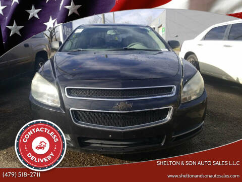 2009 Chevrolet Malibu for sale at Shelton & Son Auto Sales L.L.C in Dover AR