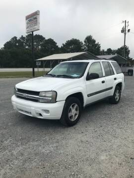 2004 Chevrolet TrailBlazer for sale at CAROLINA TOY SHOP LLC in Hartsville SC