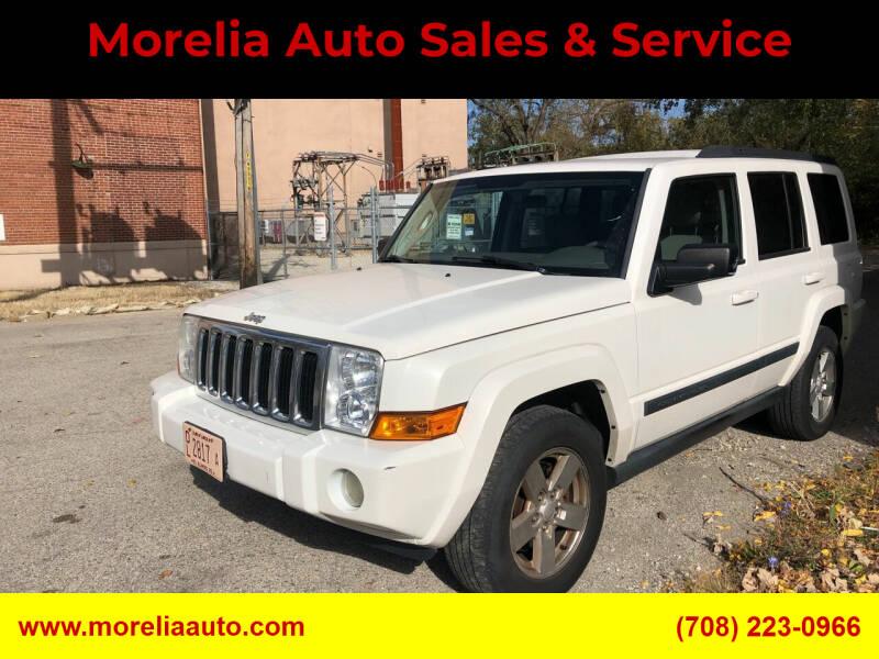 2008 Jeep Commander for sale at Morelia Auto Sales & Service in Maywood IL