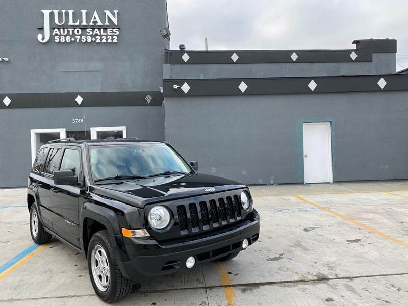 2016 Jeep Patriot for sale at Julian Auto Sales, Inc. in Warren MI