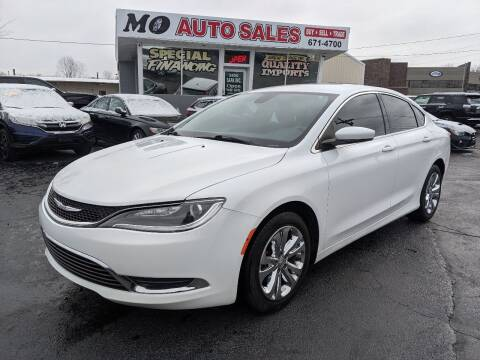2016 Chrysler 200 for sale at Mo Auto Sales in Fairfield OH