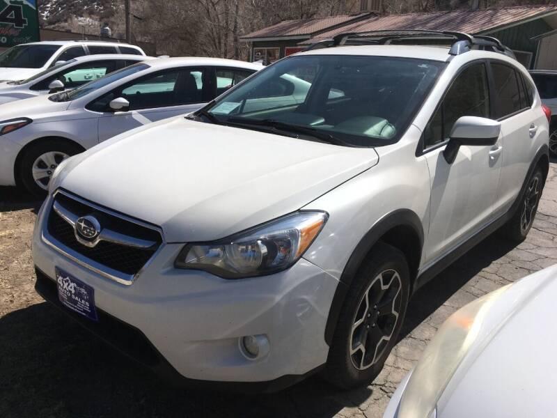 2015 Subaru XV Crosstrek for sale at 4X4 Auto in Cortez CO
