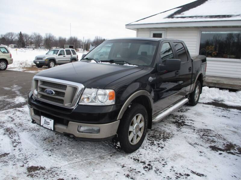 2005 Ford F-150 for sale at KAISER AUTO SALES in Spencer WI