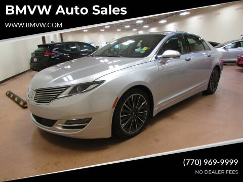2016 Lincoln MKZ Hybrid for sale at BMVW Auto Sales - Hybrids in Union City GA