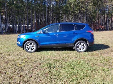 2017 Ford Escape for sale at McLain's Auto Sales in Lake City MI