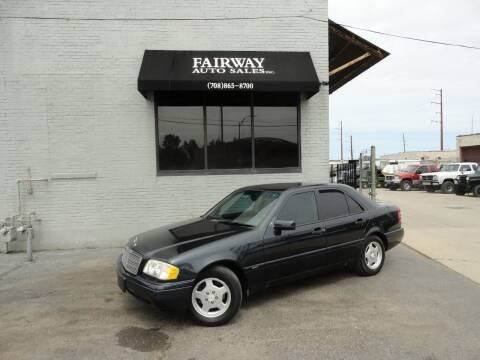 1997 Mercedes-Benz C-Class for sale at FAIRWAY AUTO SALES, INC. in Melrose Park IL