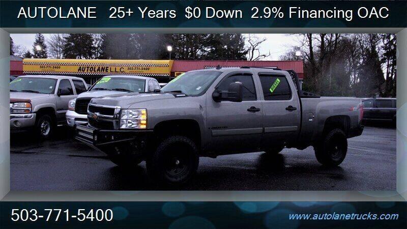 2008 Chevrolet Silverado 2500HD for sale at Auto Lane in Portland OR