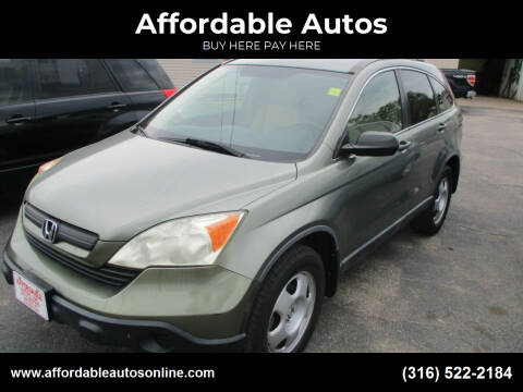 2008 Honda CR-V for sale at Affordable Autos in Wichita KS