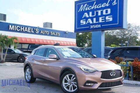 2018 Infiniti QX30 for sale at Michael's Auto Sales Corp in Hollywood FL