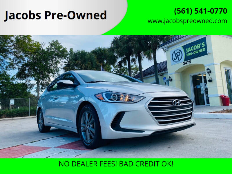 2018 Hyundai Elantra for sale at Jacobs Pre-Owned in Lake Worth FL