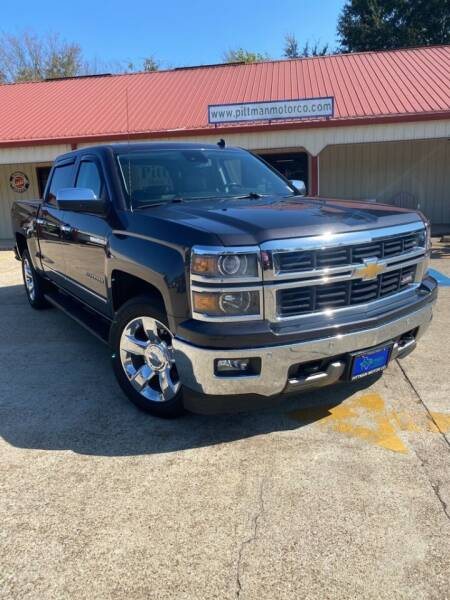 2014 Chevrolet Silverado 1500 for sale at PITTMAN MOTOR CO in Lindale TX