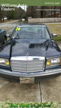 1984 Mercedes-Benz 380-Class for sale at Williams Auto Finders in Durham NC