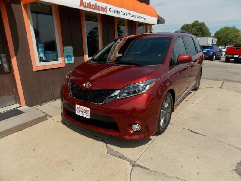 2016 Toyota Sienna for sale at Autoland in Cedar Rapids IA