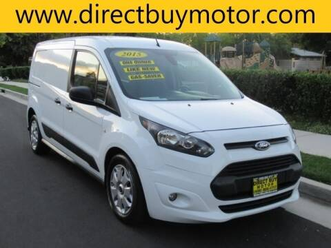 2015 Ford Transit Connect Cargo for sale at Direct Buy Motor in San Jose CA