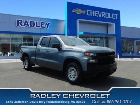 2019 Chevrolet Silverado 1500 for sale at Radley Cadillac in Fredericksburg VA