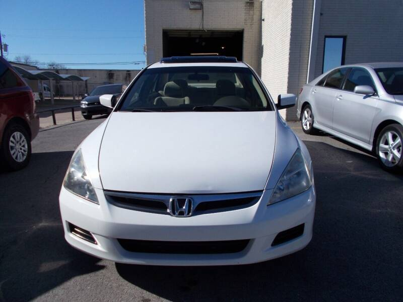 2007 Honda Accord for sale at ACH AutoHaus in Dallas TX