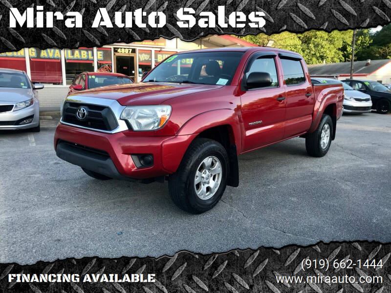 2013 Toyota Tacoma for sale at Mira Auto Sales in Raleigh NC