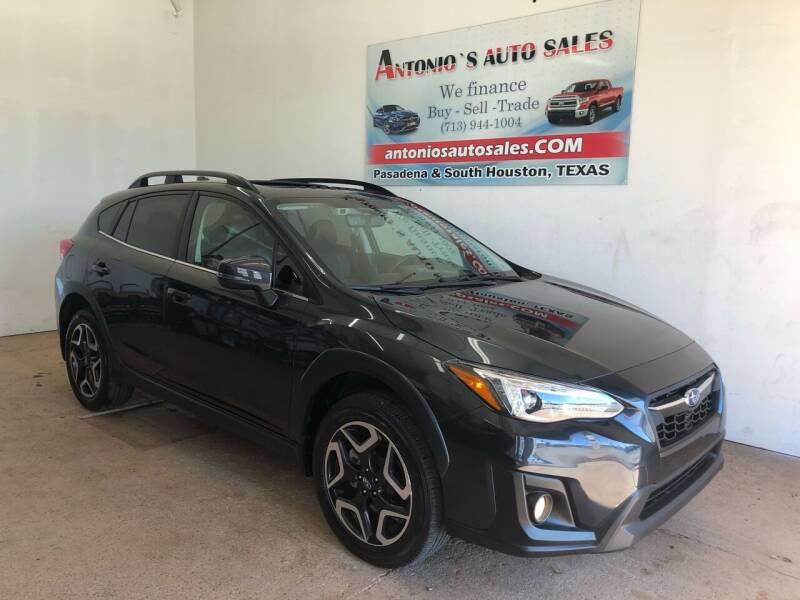 2019 Subaru Crosstrek for sale at Antonio's Auto Sales in South Houston TX