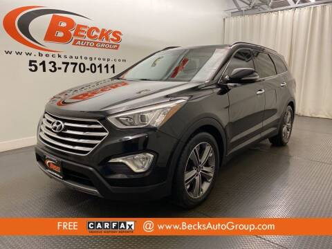2013 Hyundai Santa Fe for sale at Becks Auto Group in Mason OH