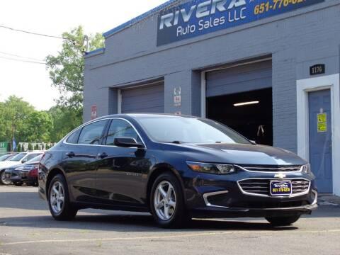 2017 Chevrolet Malibu for sale at Rivera Auto Sales LLC in Saint Paul MN