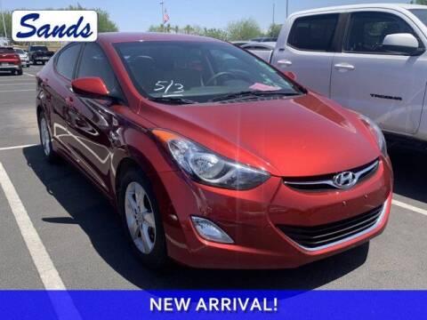 2013 Hyundai Elantra for sale at Sands Chevrolet in Surprise AZ