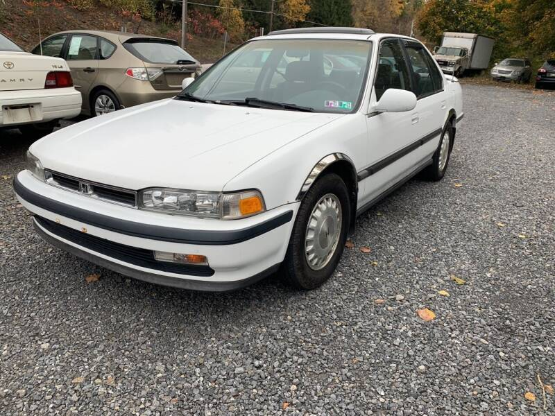 1991 Honda Accord for sale at JM Auto Sales in Shenandoah PA