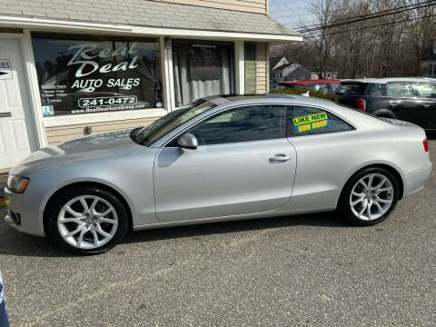 2012 Audi A5 for sale at Real Deal Auto Sales in Auburn ME