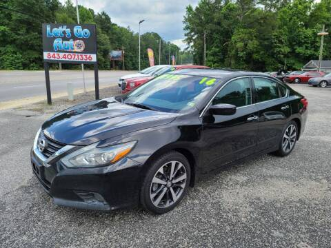 2016 Nissan Altima for sale at Let's Go Auto in Florence SC